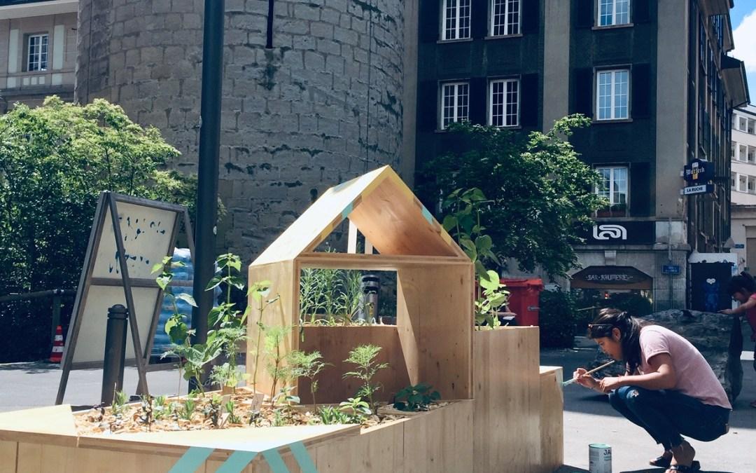 Urbanisme tactique – Rue de la Tour, Lausanne