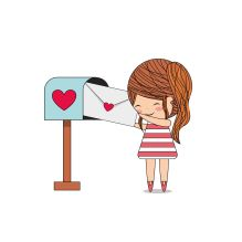 58122789 - love card design, vector illustration eps10 graphic