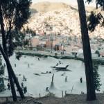 Skaters of La Paz
