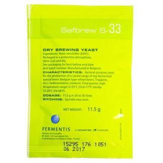 fermentis safale s-33