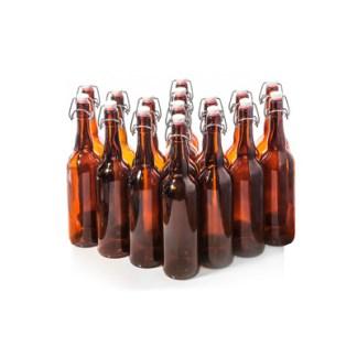 Бутылка с бугельной пробкой 0,5 л, 16 шт