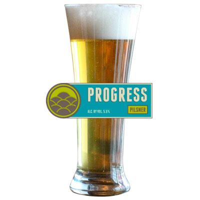 Market Garden Brewery's Progress Pilsner