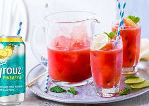 Pineapple Watermelon Mocktail
