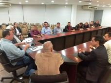 Encontro do prefeito e vereadores de Grajaú com o vice-governador 03