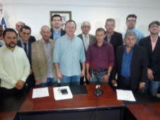 Encontro do prefeito e vereadores de Grajaú com o vice-governador 10