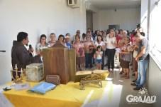 Reliquias de Sao Francisco de Assis na prefeitura 06