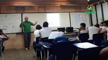Palestra escolas com tecnicos da SECAP 06