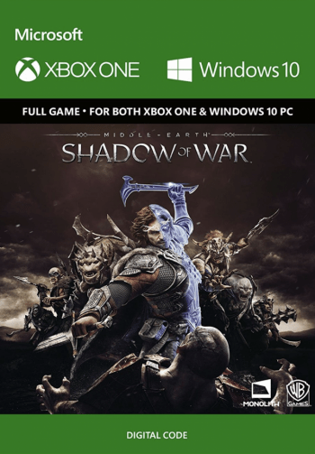 Middle-Earth: Shadow of War za 107,65 zł – cdkeys