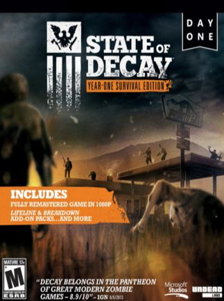 State of Decay Year One Survival Edition za 18.85 zł w Instant Gaming