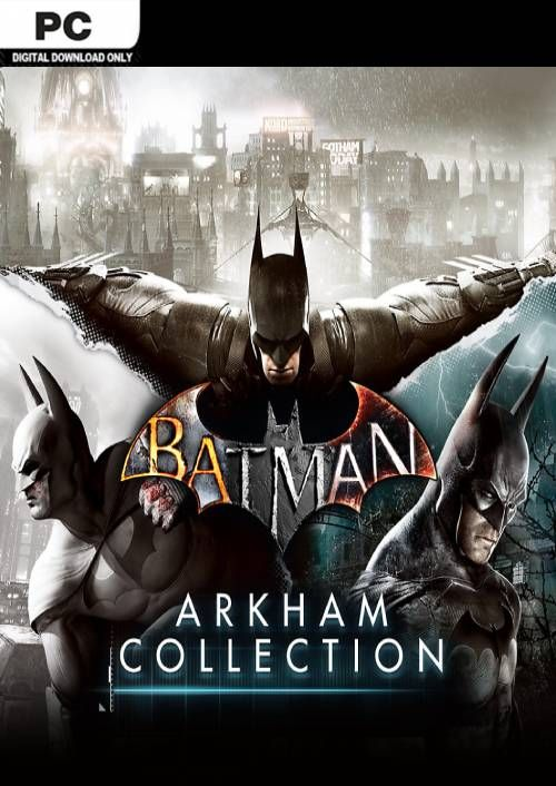 Batman: Arkham Collection za 45.79 zł w CDKeys