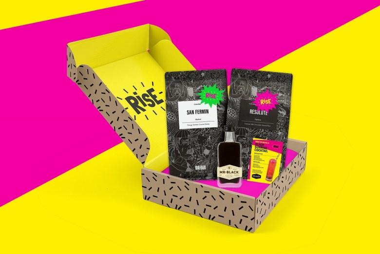 RISE coffee subscription box