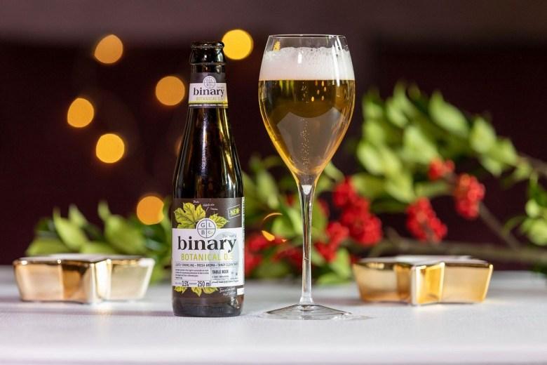 Good Living Brew Company Binary Botanical light beer