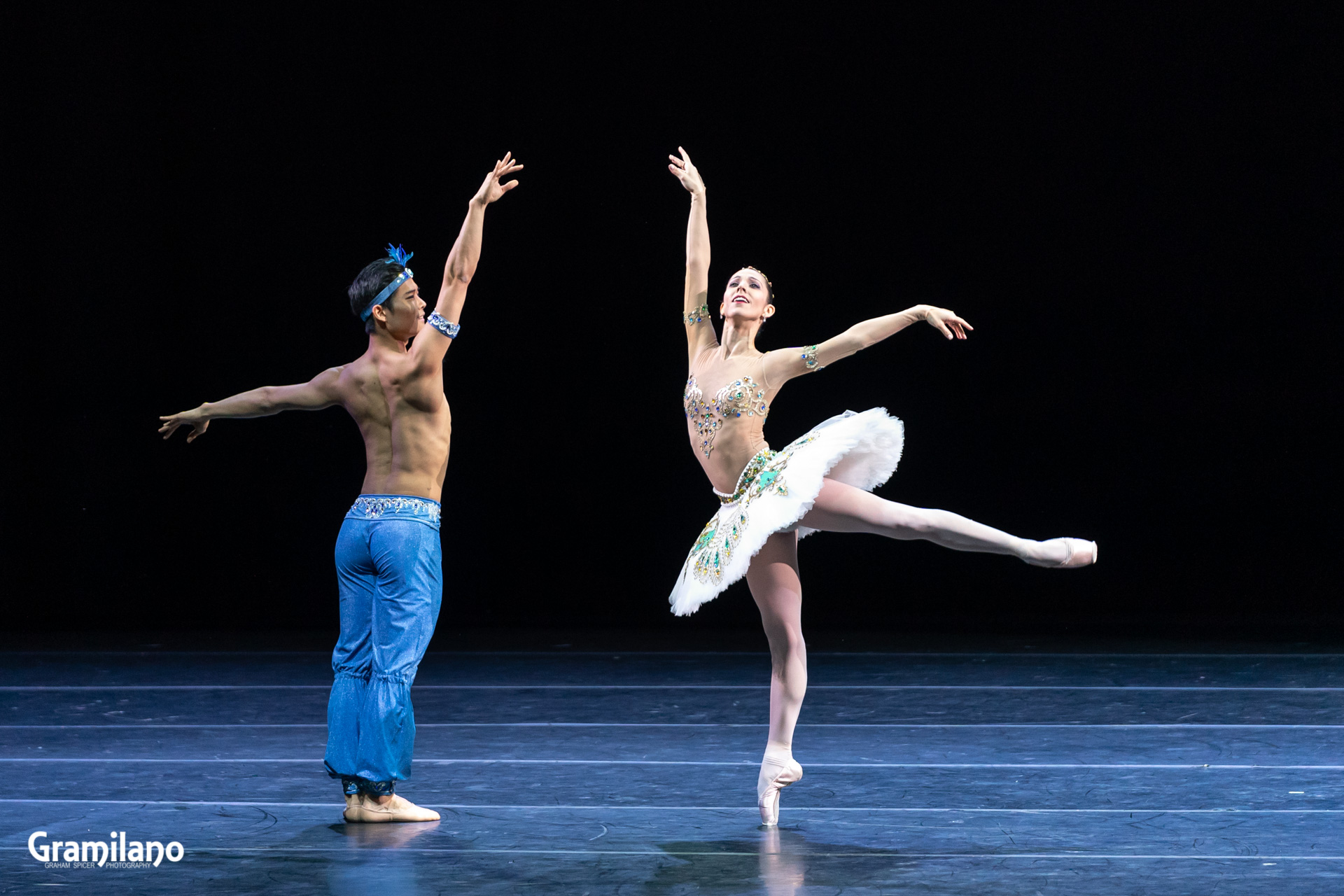 Young Gyu Choi and Ana Sophia Scheller in Le Corsaire