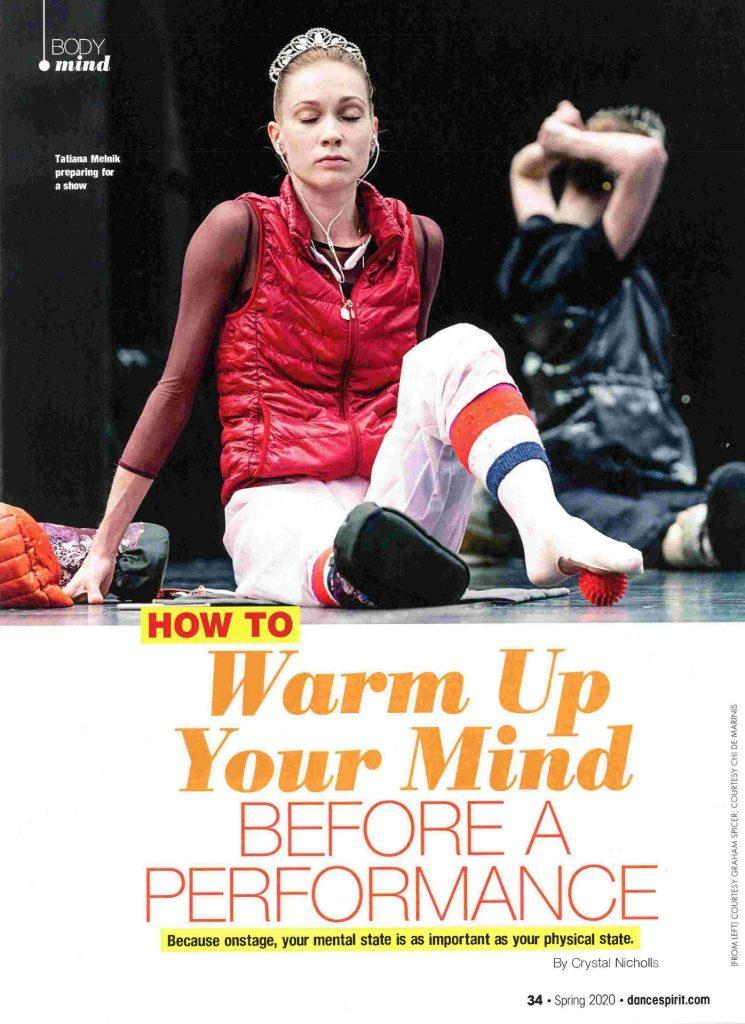 Dance Spirit Magazine, Spring 2020