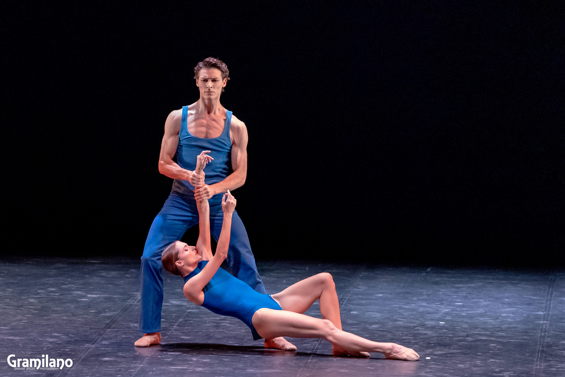 Dorothée Gilbert and Hugo Marchand in Benjamin Millepied's Amovéo