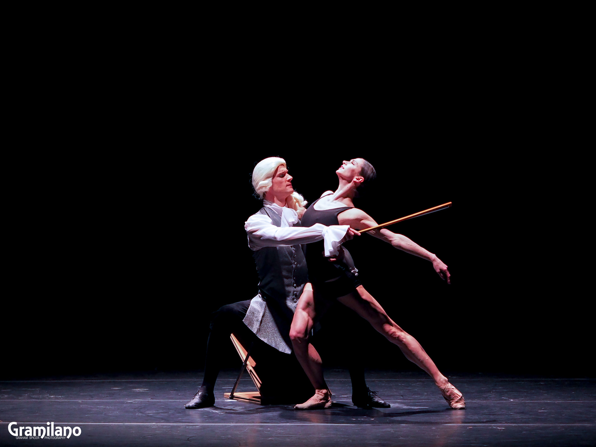 Polina Semionova and Dmitry Semionov in Nacho Duato's Cello