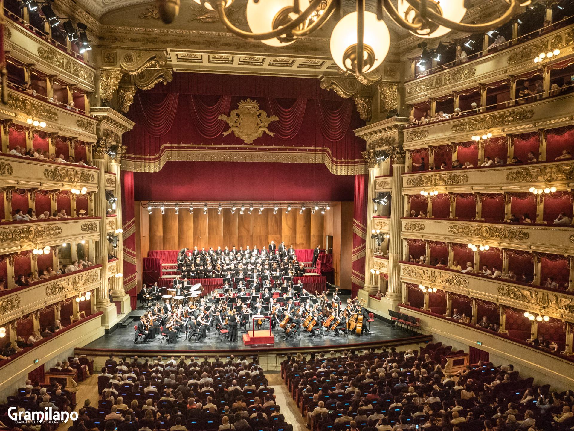 Concert, La Scala, Milan