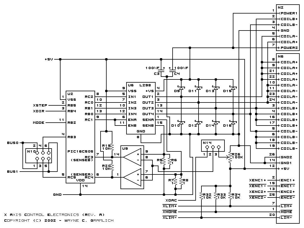 Cnc Controller Schematic