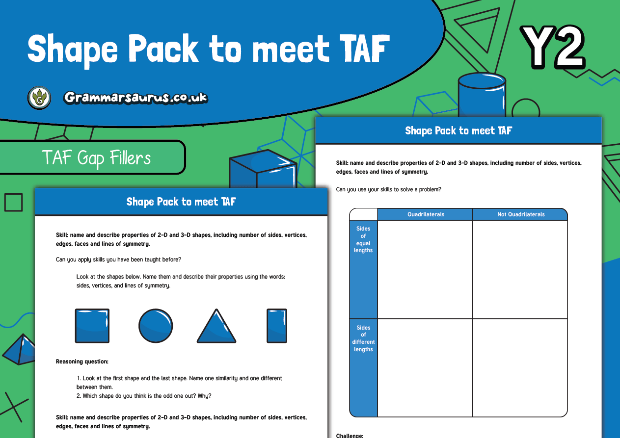 Year 2 Maths Taf