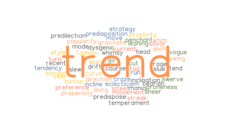TREND: Synonyms and Related Words. What is Another Word for TREND? -  GrammarTOP.com