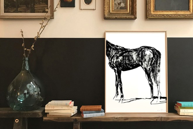 Horse series frederic forest limited prints
