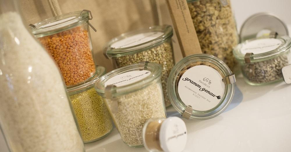 gramm.genau Lieferservice unverpackt zero waste Online-Shop