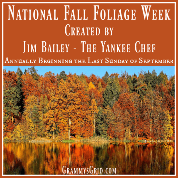 National Fall Foliage Week 2019 by Grammy's Grid