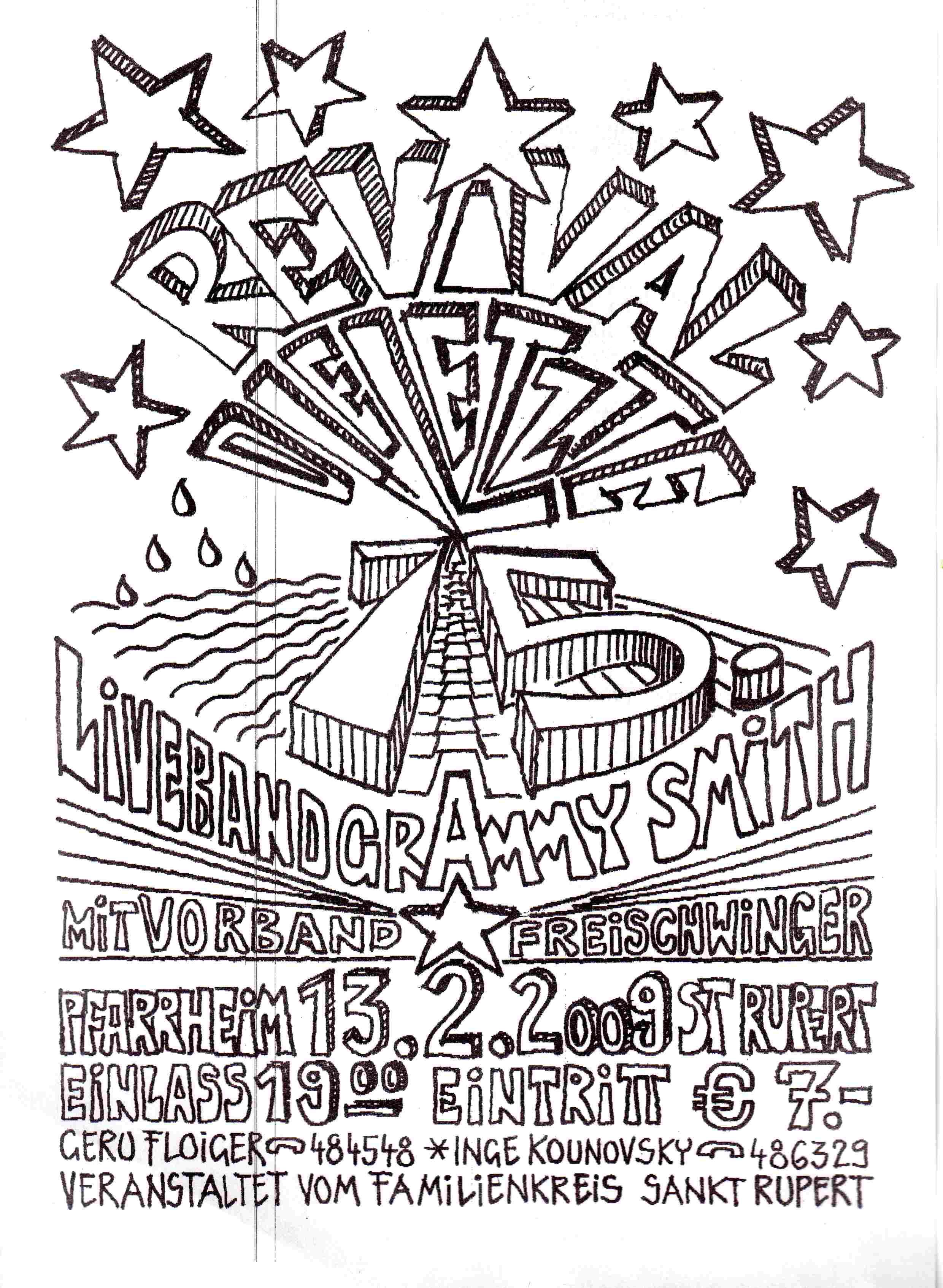 REVIVAL PARTY 2009 St.Rupert , der Abschied  einer Legende