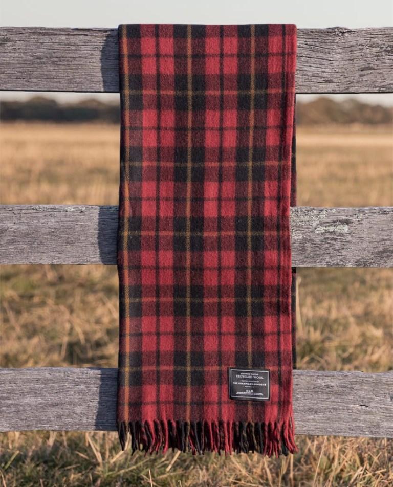 Rebellion - Grampians Scottish Tartan Blankets