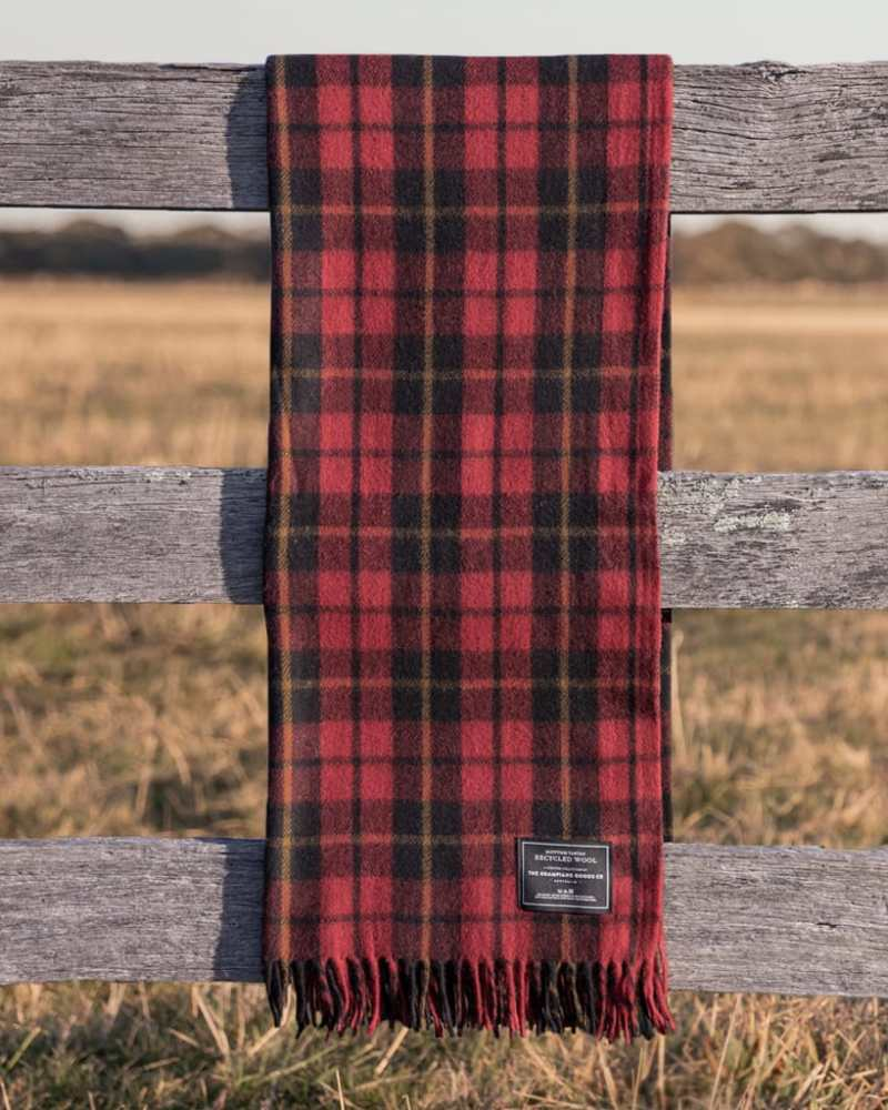 Rebellion - Grampians Scottish Tartan Blankets