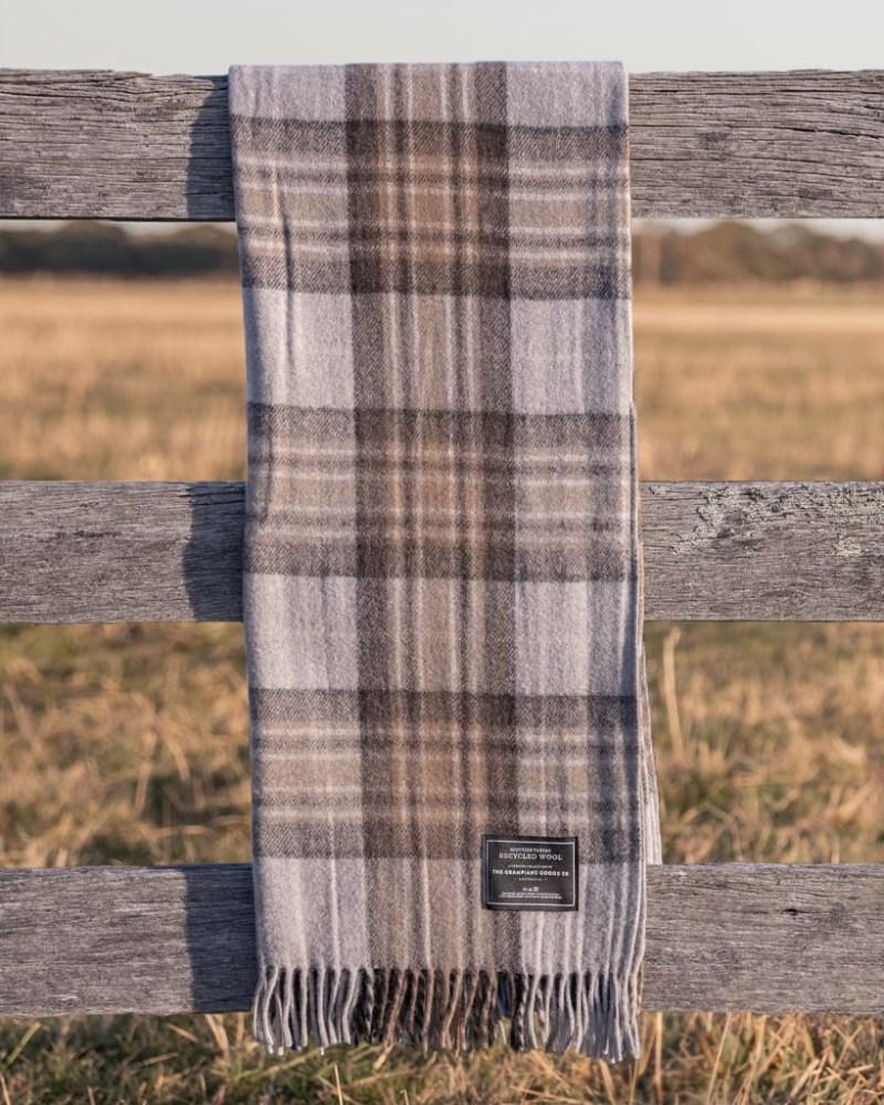 Winter - Grampians Scottish Tartan Blankets