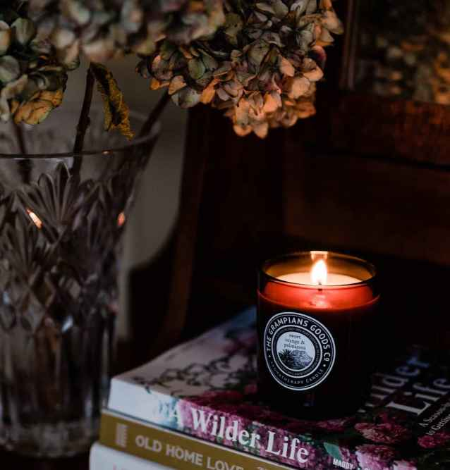 Grampians Goods Co Sweet orange and palmarosa aromatherapy candles