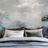 Salt Creek Cottage mural wall bedroom Marnie Hawson