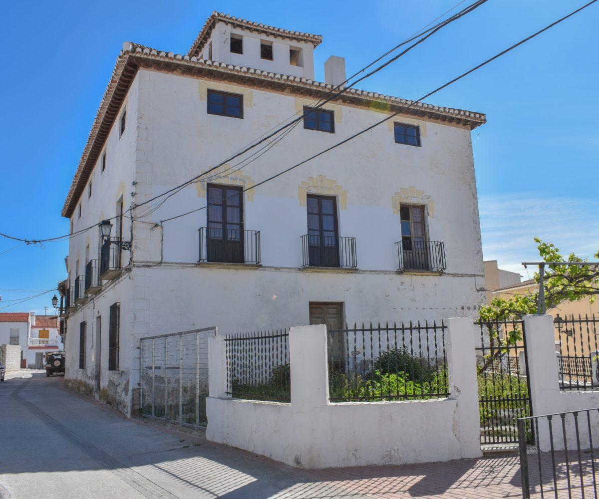 For sale, Hotel, granada, Alhama de granada, jayena, pantano los bermejales, granada estate agency, real estate spain