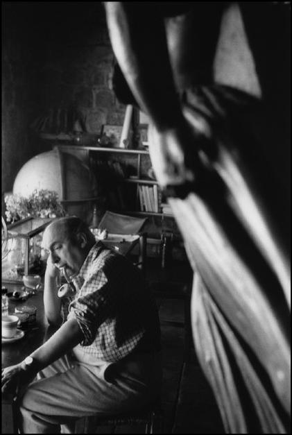 "CHILE. ""Isla Negra"". 1957. Photographs taken in and around the house of the Chilean poet Pablo NERUDA. Pablo NERUDA."