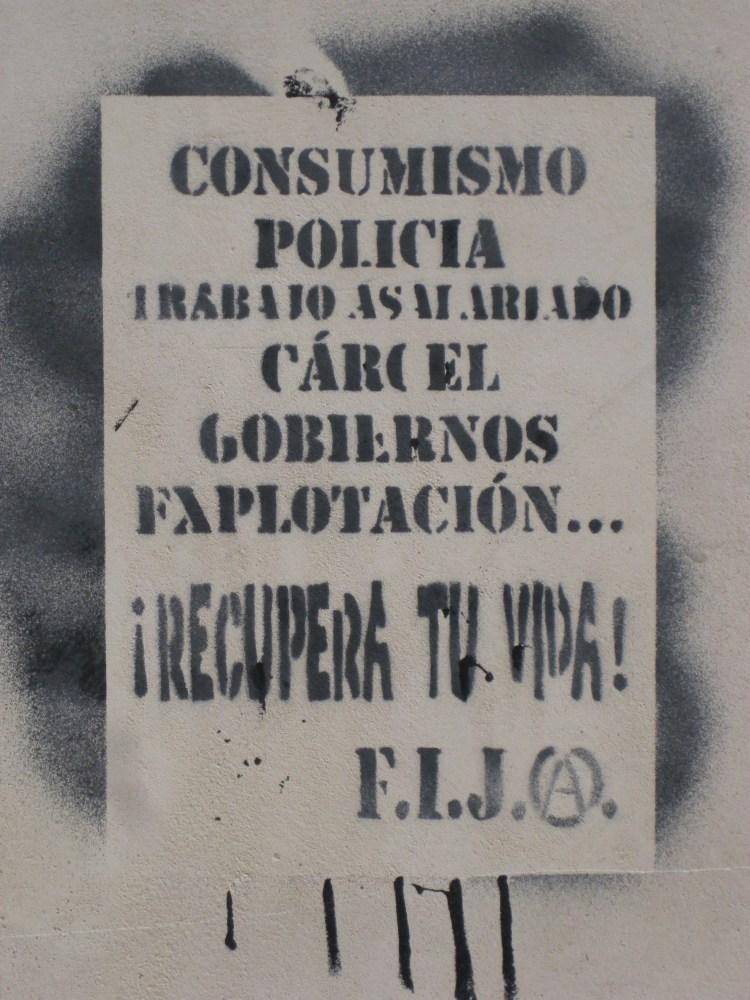 Political and Funny Graffiti in Granada (2/6)