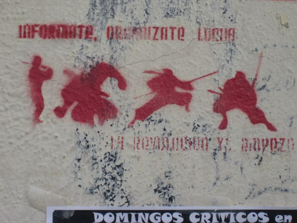 Political and Funny Graffiti in Granada (3/6)