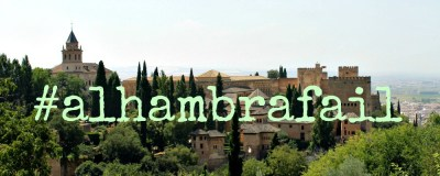 The GranadaSpain 9 Step Guide to a textbook #Alhambrafail