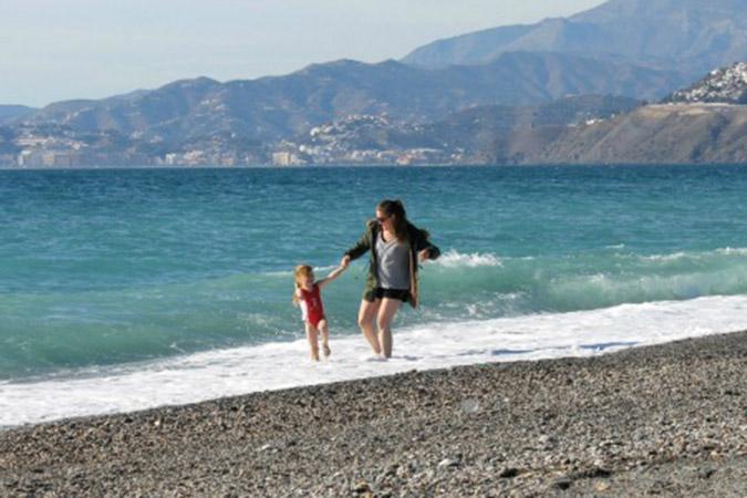 Charca playa