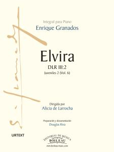 Foto portada Elvira - Granados