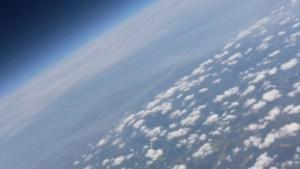 Imagen de calidad media enviada por la segunda frecuencia de radio
