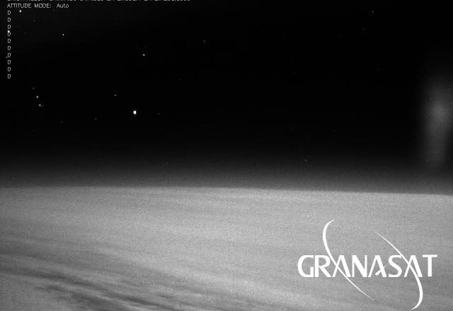Vista de nuestra cámara desde la Estratosfera