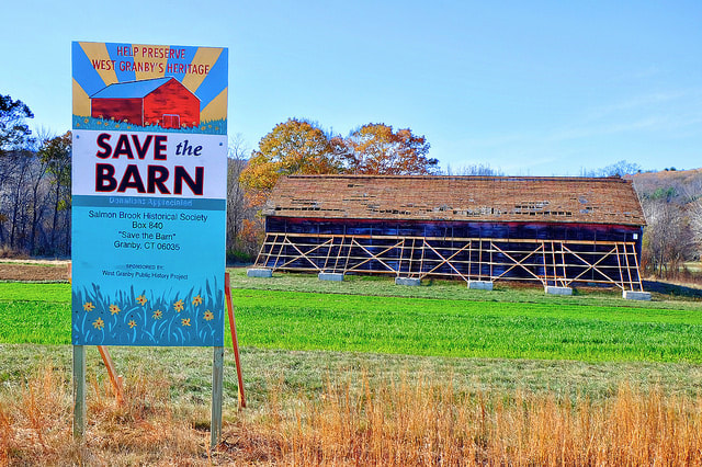 Preserving our heritage: Historic barn restoration in West Granby