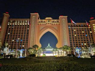 Atlantis The Palm, Dubai a noite