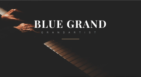 Bluethner Grand Piano