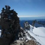 La Madone du Grand Paradis vu du vrai sommet
