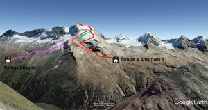 Grand Paradis alpinisme debutant ascension avec un guide alpes aventure