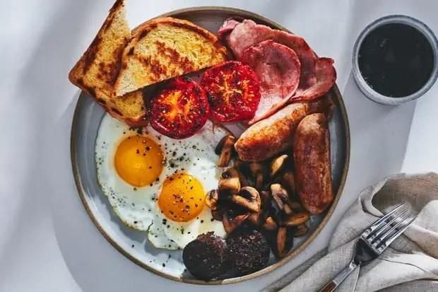 irish weekend fried breakfast