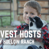 Ep. 106: Harvest Hosts – Starry Hollow Ranch | Utah RV travel camping