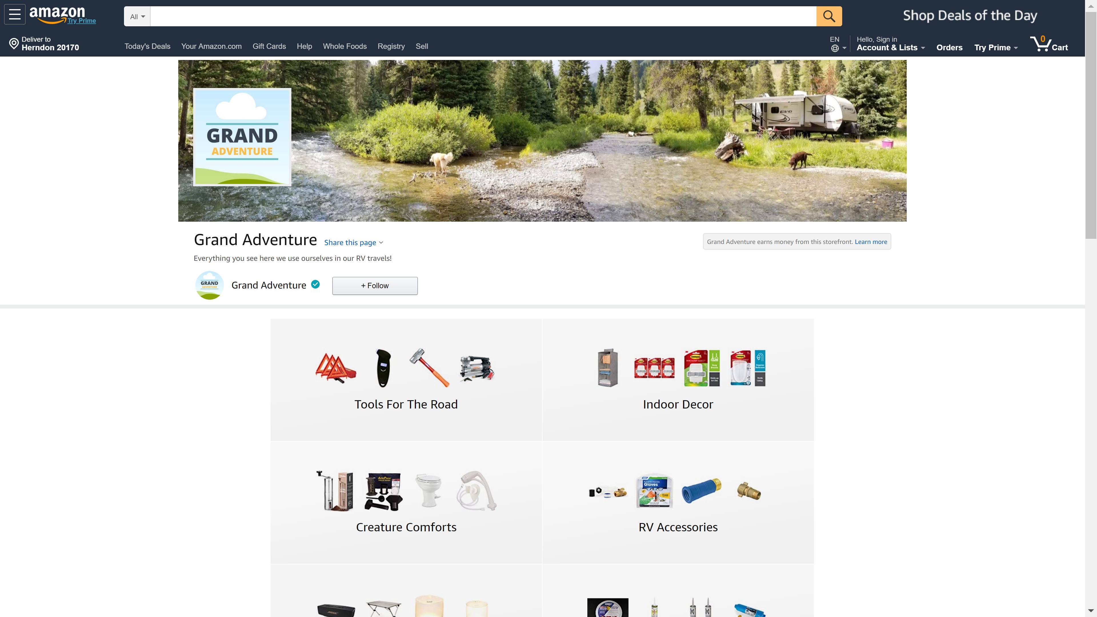 Grand Adventure on Amazon